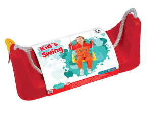 StarPlay Παιδική Κουνια Δεντρου Κοκκινη Μονοθέσια με σχοινί