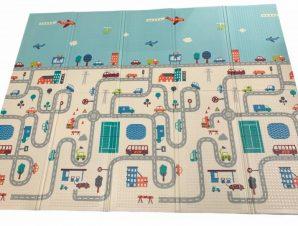 EPE Playmat Παιδικο Χαλί Πολη Δρομος – Παρκο Δρομος.194cmX156cm 1cm