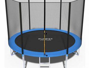 FunFit Τραμπολινο 3,12m με διχτυ ασφαλειας με σκάλα